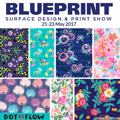 Print pattern blueprint 2017 dot and flow blueprint seemed like the perfect match for them the dotties cannot wait to meet with the buyers art directors and designer friends old and new malvernweather Gallery