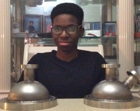 16 YEAR OLD NIGERIAN BECOMES THE FIRST BLACK TO BUILD A NUCLEAR FUSOR