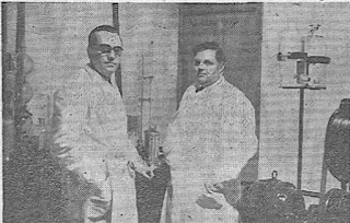 Albert Filek, Franco estafado, gasolina sintética