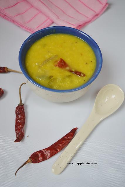 Mango Dal Recipe | Mamidikaya Pappu Recipe | Raw Mango Pappu