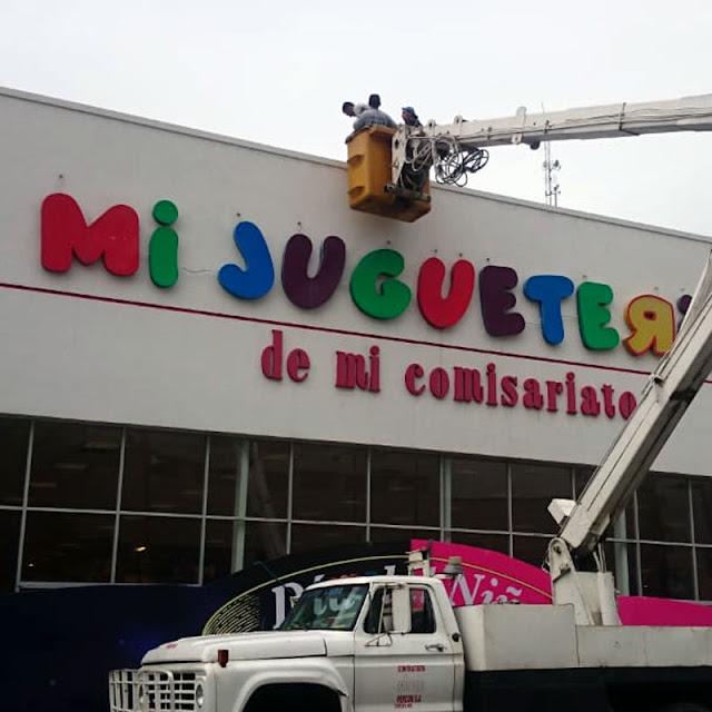 Instalación de letreros en guayaquil
