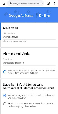 Bagaimana Cara Agar Langsung diterima Oleh Google Adsense