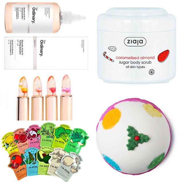 Ideas para regalar cosmética en Navidad - Low Cost