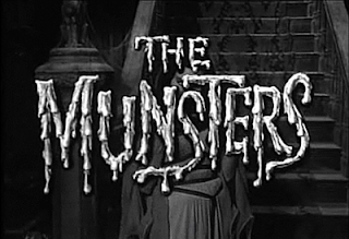 Fotograma de la serie en Blanco y Negro: The Munsters