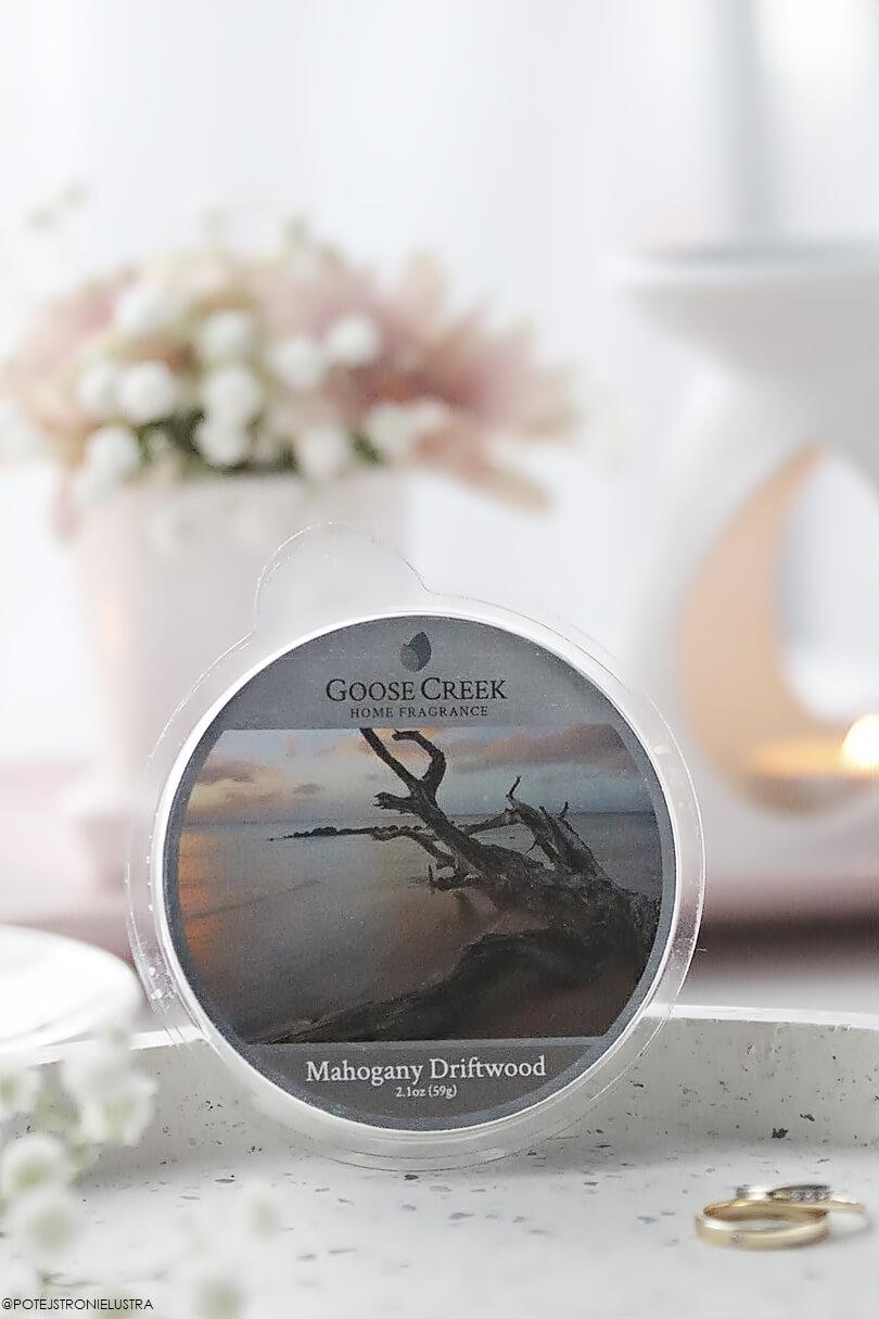 wosk zapachowy goose creek mahogany driftwood nowość wiosna-lato 2019