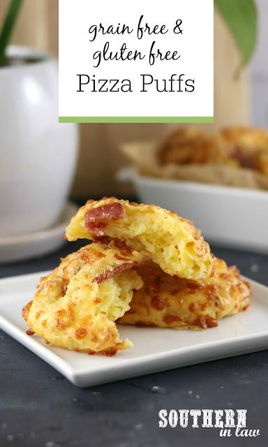 Gluten Free Pizza Puffs Recipe - Grain Free Brazilian Cheesebread Recipe, Easy Bread Recipes, Low Carb