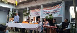 राष्ट्रीय सेवा योजना के स्वयंसेवक एवं सेविकाओं ने स्वच्छता जागरूकता रैली निकालकर लोगों को सफाई करने के लिए किया प्रेरित | #NayaSaberaNetwork