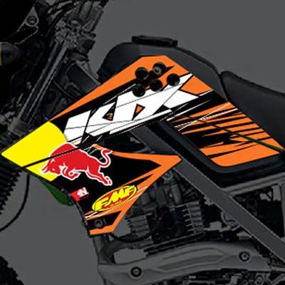 KLX KTM Redbull Replica
