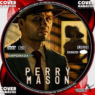 GALLETA PERRY MASON TEMPORADA 1 2020[COVER DVD]