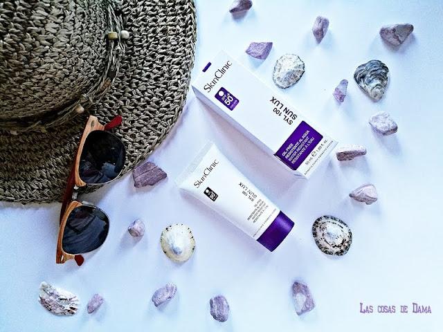 SYL 100 Sun Lux SPF50+  SkinClinic proteccion solar sunprotect deportes agua sol belleza beauty dermocosmetica