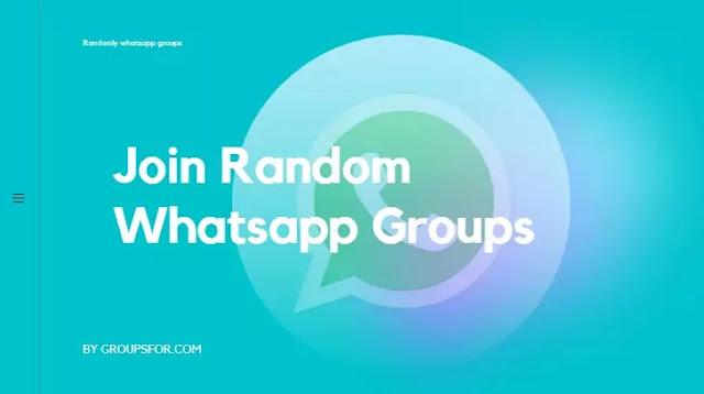 Random Whatsapp Groups