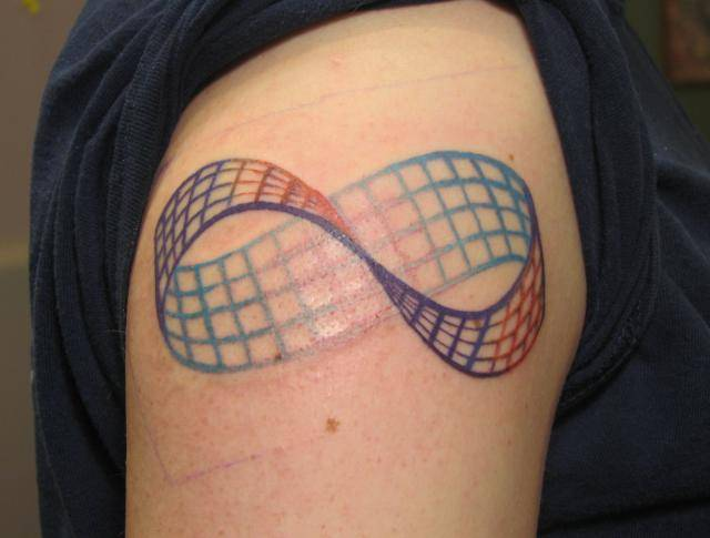 mobius infinity tattoo design