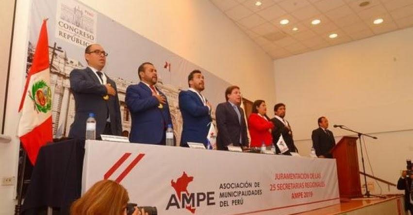 AMPE: Asociación de Municipalidades saluda a presidente Sagasti y expresa compromiso de trabajo con el Ejecutivo
