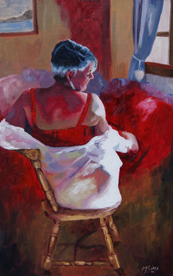 Американский художник. Marjory Sime