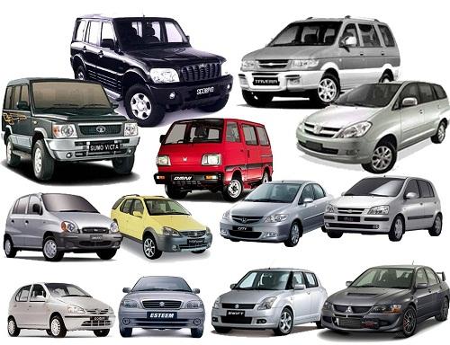 Daftar Harga Mobil Bekas Terbaru 2016