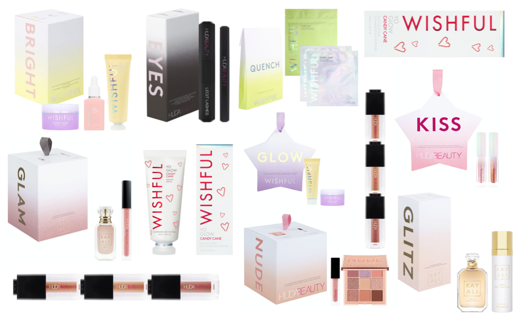 Huda Beauty & Wishful Christmas 2020 Gift Sets