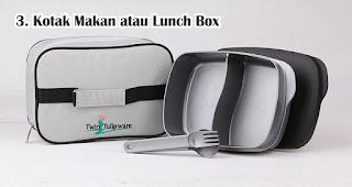 Kotak Makan atau Lunch Box merupakan salah satu hadiah 17an yang murah dan menarik