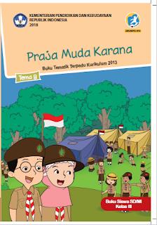 gambar Buku Tematik Terpadu k13 Kelas 3 SD/Mi Semester 2 Tema 8