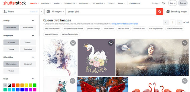 Shutterstock: Most Popular Images Search Engines: eAskme