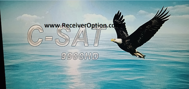 C-SAT 9900HD 1506FV NEW SOFTWARE WITH TCAM & DIRECT BISS KEY ADD OPTION