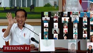 """Pesan Presiden Jokowi di Hari Anak Nasional 2021 ; """" Tetap Semangat Belajar, Meski Tidak di Sekolah"""""""