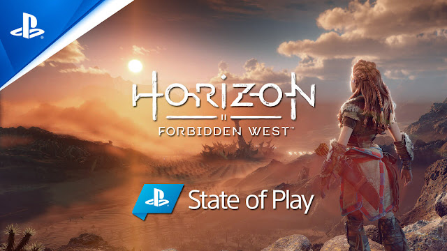 horizon forbidden west state of play gameplay showcase combat zero dawn ps5 open-world action role-playing guerrilla games sony interactive entertainment