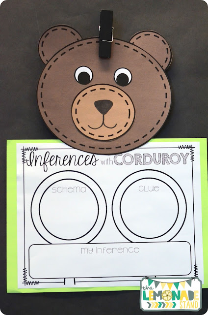 making inferences corduroy craftivity