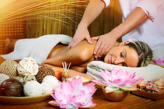 Centro de estética y masajes aromatizado