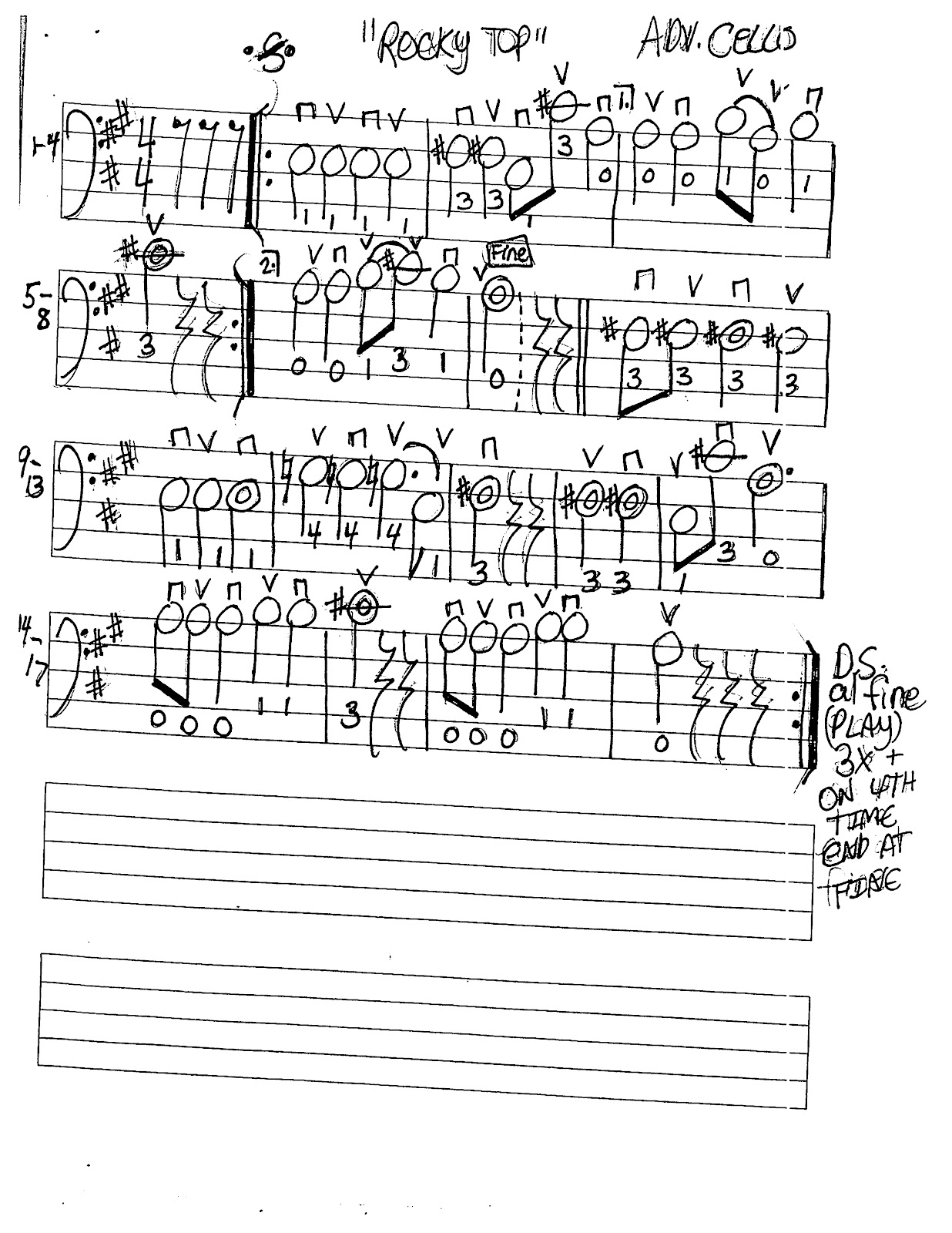 Miss Jacobson S Music Rocky Top Music Worksheets