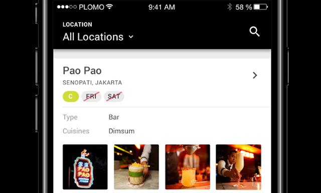 Plomo, Aplikasi yang Hadirkan Complimentary Drinks di Berbagai Bar dan Restoran