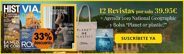 Suscripción revistas National Geographic