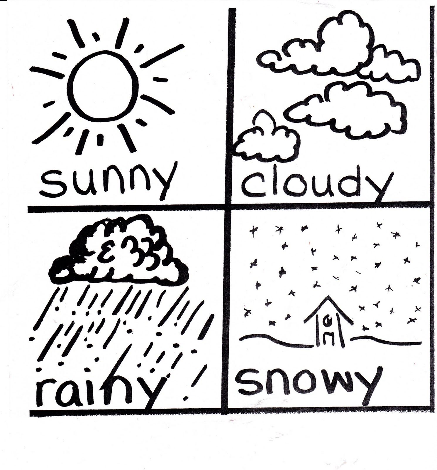 Metamora Community Preschool: Weather Words