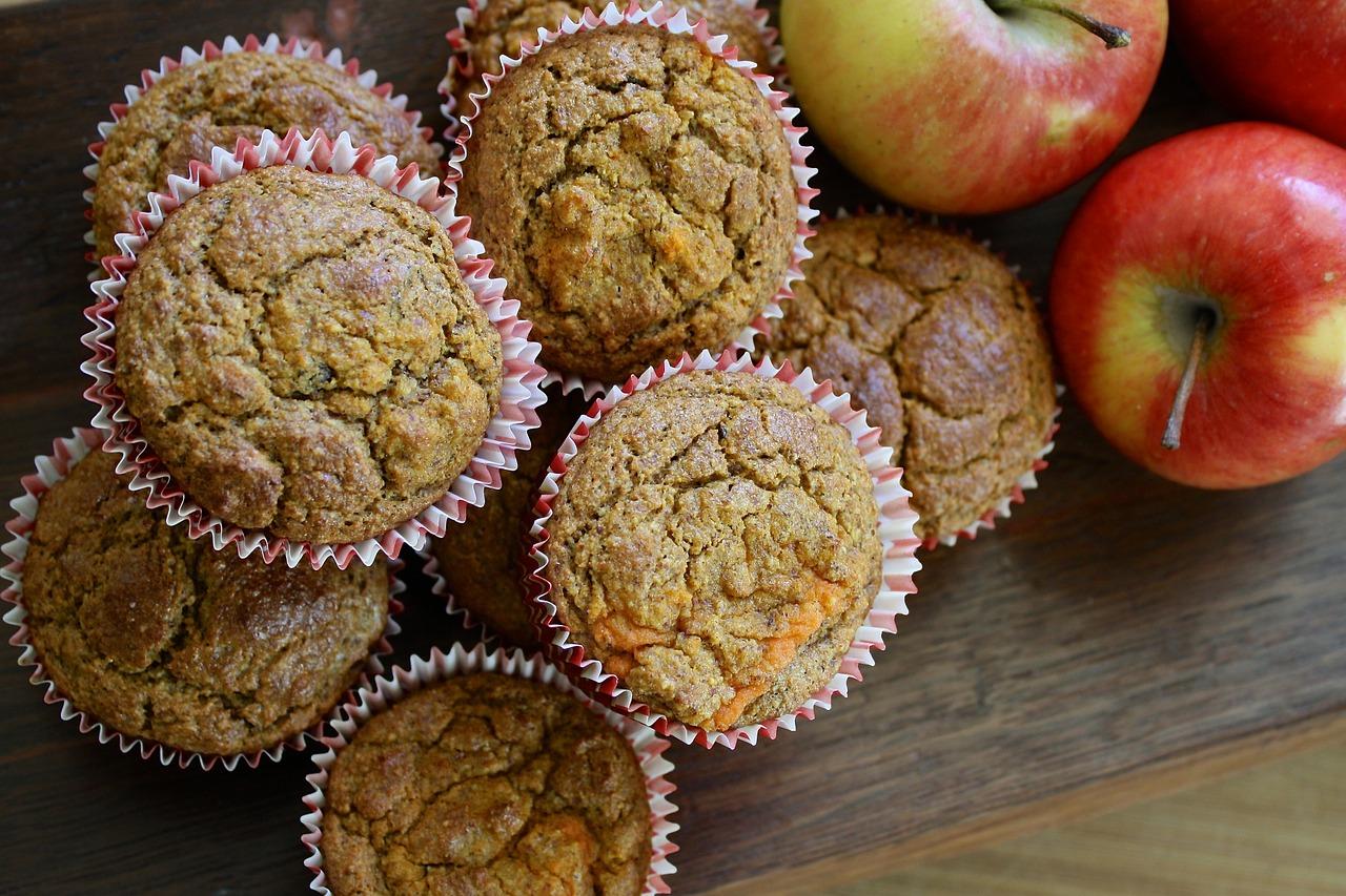 Domowe pichcenie: Muffiny z jabłkami i wanilią.