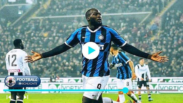 Udinese vs Inter – Highlights