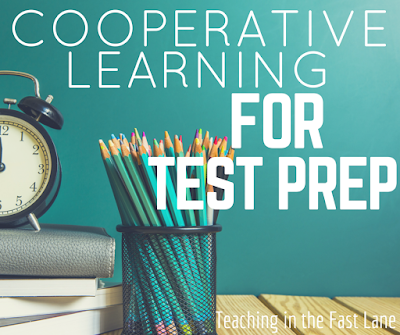 Seven AMAZING cooperative learning structure to ROCK test prep! The 2nd one is my favorite!