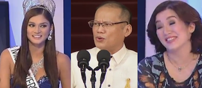 PNoy on Pia Wurtzbach I m glad she achieved one of her dreams