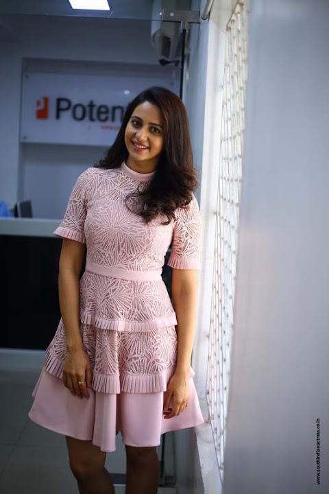 Rakul Preet Singh Photoshoot at Theeran Adhigaram Ondru Interview