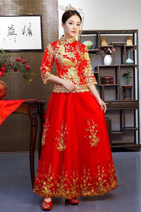 Cheongsam Chinese Wedding Dresses