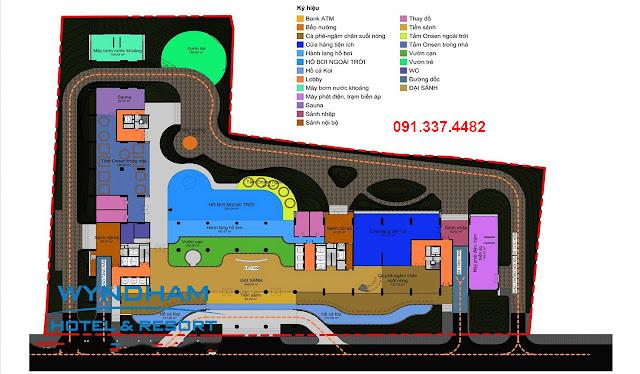 Thiết kế căn hộ Condotel Wyndham Thanh Thủy Hot Springs Hotel & Resort
