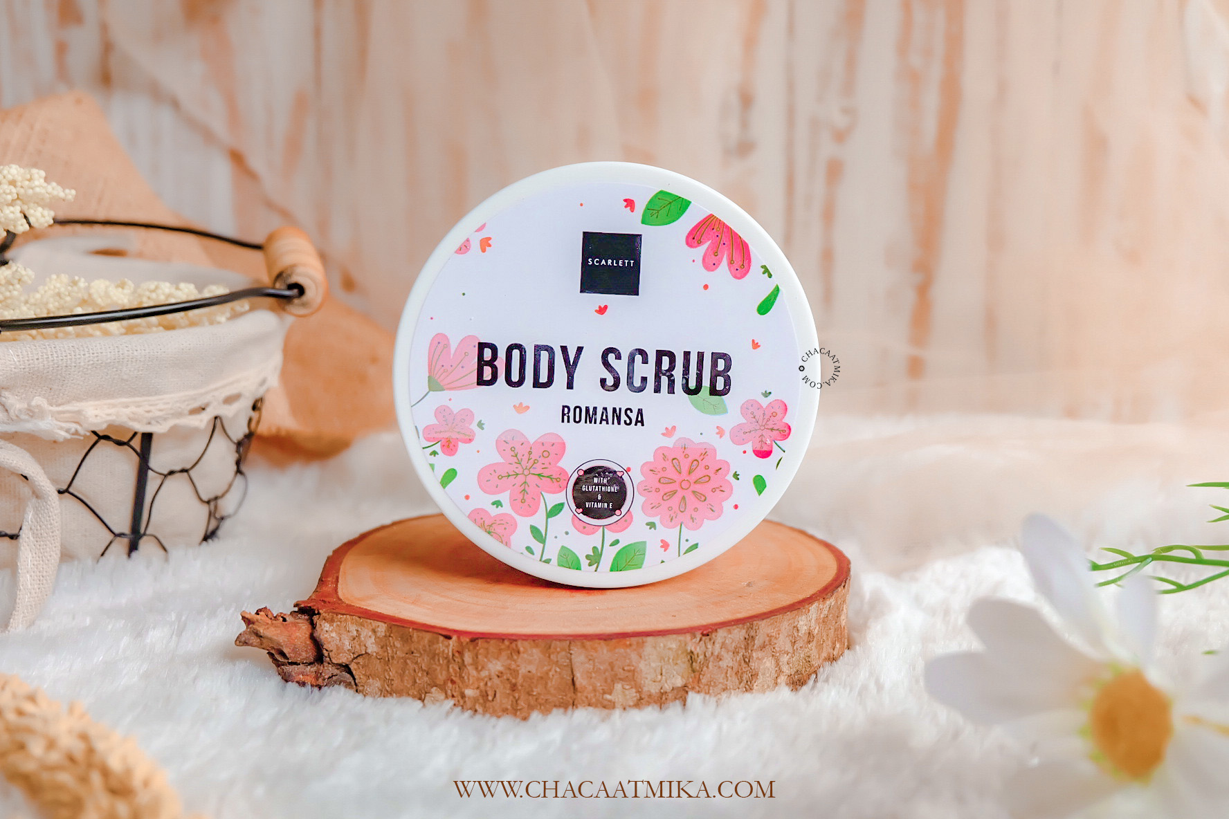 Review Scarlett Whitening Body Scrub