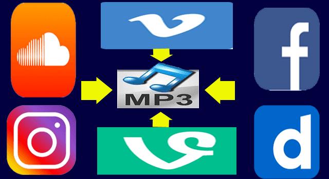 افضل موقع لتحويل اي فيديو يوتيوب او فيسبوك الى mp3 اون لاين