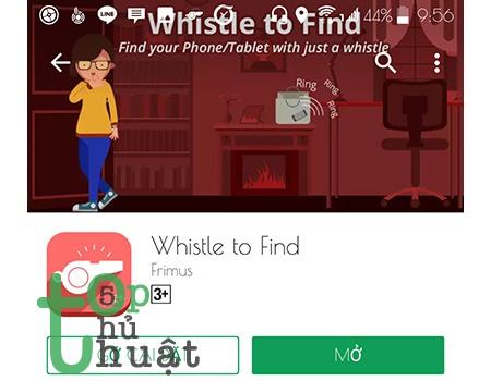 Thủ thuật tìm điện thoại bằng cách huýt sáo cực độc trên Android