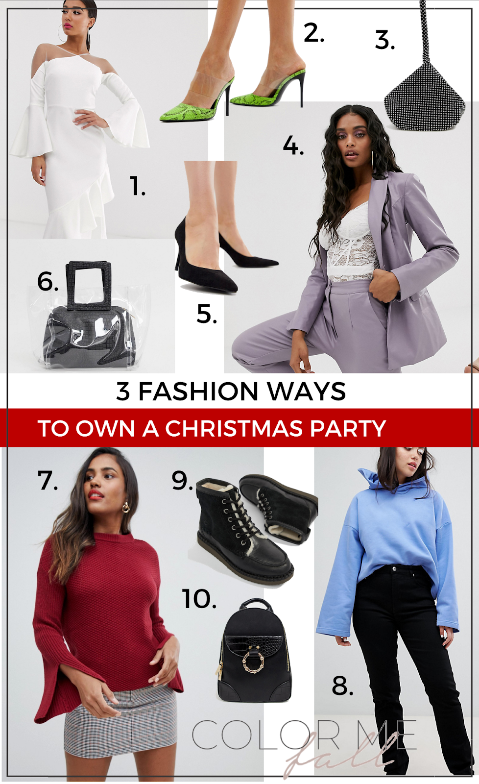 3 (And More) Fashion Ways To Own A Christmas Party