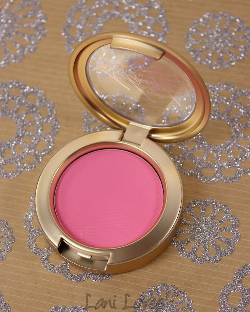 MAC MONDAY | Mariah Carey Holiday 2016 - You've Got Me Feeling Blush Swatches & Review