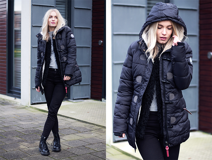Fashion Attacks outfit ootd Cold days coming Superdry winter coat