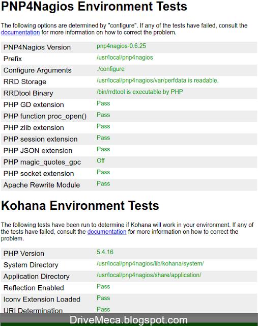 DriveMeca instalando PNP4Nagios en Nagios 4 en un servidor Linux Centos 7