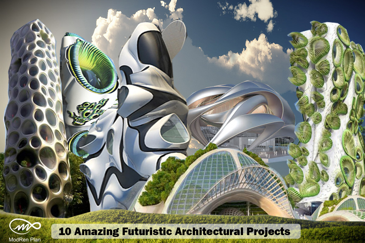 10 Most Amazing Futuristic Architectural Design And Projects