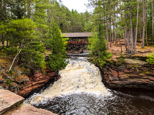 Lower Falls at Amnicon Falls State Park WI