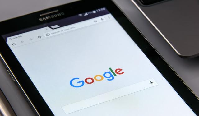 tampilan favicon google