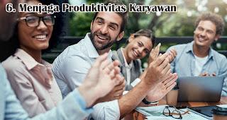 Menjaga Produktivitas Karyawan merupakan alasan penting mengapa harus memiliki dana darurat